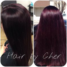 Black cherry hair color!