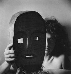 Alexandr Hackenschmied - Portrait au Masque, 1942