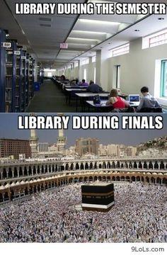 Time to start cramming.