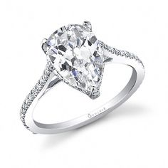 A gemstone solitaire may be the essential diamond engagement ring. Although other diamond engagement ring settings fall and rise in recognition, a solitaire ring is really a classic with constant, … Engagement Solitaire, Pear Shaped Engagement Rings, Engagement Ring Shapes, Wedding Rings Solitaire, Princess Cut Engagement Rings, Engagement Ring Settings, Vintage Engagement Rings, Wedding Band, Princess Wedding
