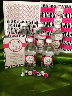 It's A Girl!  Shower/ Party Pack on Etsy, $34.00