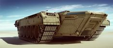 Concept tank carrier by boogotti