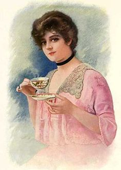 .....And No! We DO NOT Curl Our Little Finger In Such A Gesture Of Affectation ~ Afternoon Tea.