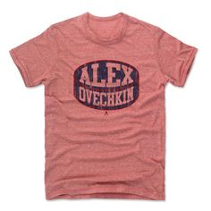 Alexander Ovechkin Puck B Washington Officially Licensed NHLPA Tshirt Unisex S-2XL