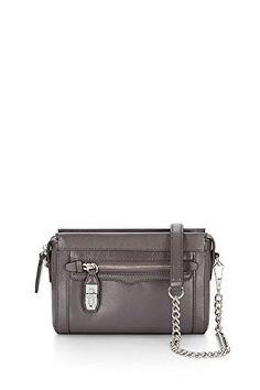 ea39cd44fe268 Rebecca Minkoff Mini Crosby Crossbody Bag New Grey   Want to know more