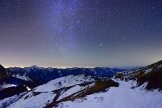 night at bare mountain @ 合歡山