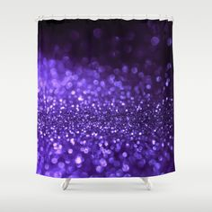 Buy Pantone Color 2018 Ultra Violett Purple Glitter Shower Curtain bathroom decor by betterhome. Worldwide shipping available at Society6.com. Just one of millions of high quality products available. #home #homedecor