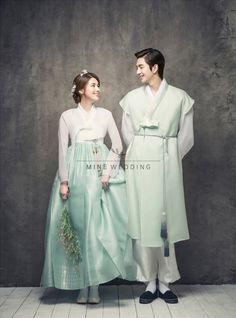 Korean Hanbok for traditional wedding Korean Traditional Clothes, Traditional Fashion, Traditional Dresses, Traditional Wedding, Oriental Fashion, Asian Fashion, Hanbok Wedding, Korea Dress, Modern Hanbok