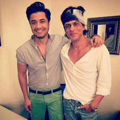 Srk with Ali Zafar (Kill Dil Promotions)