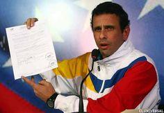 "Capriles: ""La campaña será salirle al frente a cada mentira"""