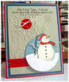 Snowbuddy by Minders - Cards and Paper Crafts at Splitcoaststampers