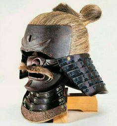Samurai Helmet, Samurai Weapons, Samurai Warrior, Japanese Mask, Japanese Warrior, Japanese Film, Elmo, Japanese Blades, Samurai Artwork