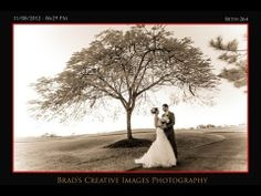 Beth and Matt, an infrared wedding portrait shot at Willoughby Golf Club in Stuart by Brads Creative Images www.bciphoto.com
