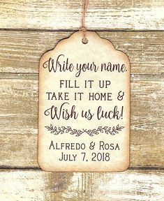 Custom listing for tags as pictured. Wedding Favor Tags, Vintage Inspired, Card Stock, I Shop, Writing, How To Make, Cards, Handmade, Hand Made