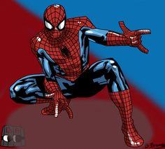 Friendly Neighbourhood Spiderman by SomeShortGuy on @DeviantArt