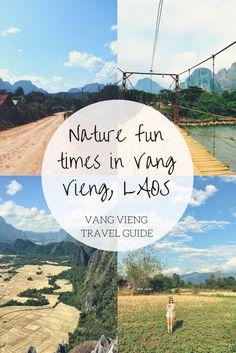 Nature fun times in Vang Vieng, Laos Party Scene, Laos, Good Times, Travel Guide, River, Nature, Fun, Photos, Naturaleza