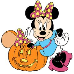 transparent mickey and minnie mouse png clipart Disney Halloween, Minnie Maus Halloween, Halloween Clipart, Halloween Images, Happy Halloween, Scary Halloween, Halloween 2015, Minnie Mouse Cartoons, Mickey Mouse And Friends