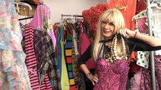 Betsey Johnson gives us a tour of her studio.