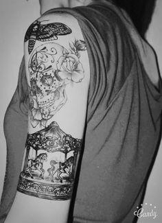 Carousel tattoo