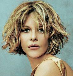 Celebrity Hairstyles: Meg Ryan