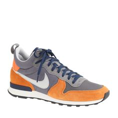 promo code 3d183 832d2 ... Men s Nike Internationalist Mid Sneakers at J.Crew. Sneakers Box,  Leather Sneakers ...