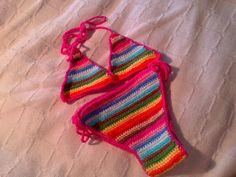 Bikini crochet regalo de cumple para mi sobri
