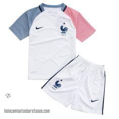 Camisetas Nino Segunda Francia Euro 2016  €15.5