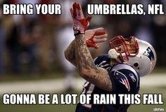 Aaron Hernandez #patriots NFL WEATHER ADVISORY: FALL 2012