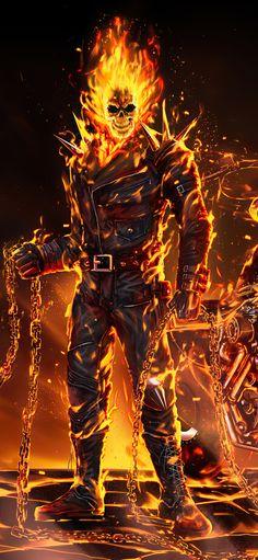 Batman Joker Wallpaper, Joker Iphone Wallpaper, Scary Wallpaper, Joker Wallpapers, Avengers Wallpaper, Ghost Rider Johnny Blaze, Ghost Rider Marvel, Ghost Rider Wallpaper, Ghost Rider Pictures