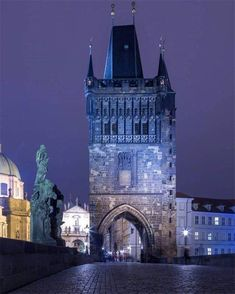 There is usually some snow in Prague before Christmas and then again in January, February, and even March, but every Prague winter is different. World Travel Guide, Travel Guides, Prague Winter, Visit Prague, Prague Czech Republic, Vinyl Siding, Toulouse, Tower Bridge, Travel Destinations
