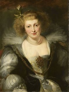 Peter Paul Rubens's portrait of his wife Helena Fourment