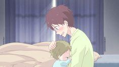 Gakuen Babysitter Anime Guys, Manga Anime, Tokyo Ghoul, Hug Gif, Sanrio Danshi, Gakuen Babysitters, Baby Hug, Wallpaper Naruto Shippuden, Satsuriku No Tenshi