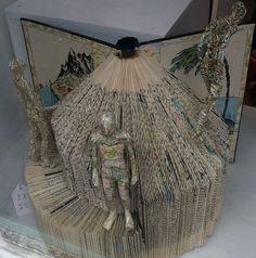 Book Sculptures by thefourthcraw, via Flickr