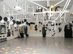 our parents decorated the hall for the haloween disco to ensure we all had fun (ACG Jakarta)