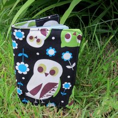 Snowy Owl.  A passport sleeve with a whimsical by TheSherbetPatch