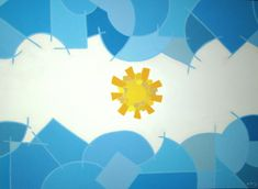 Birthday Background, South America, Origami, Abstract Art, Flag, Collage, Fine Art, Artwork, Crafts