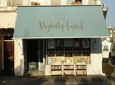 Slightly Foxed used to be a second-hand bookshop, owned by Graham Greene's nephew. Today, it sells an eclectic range of current fiction and non-fiction titles.