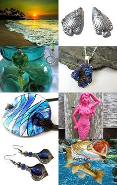 Under the Sea by Laura Griffing on Etsy--Pinned with TreasuryPin.com