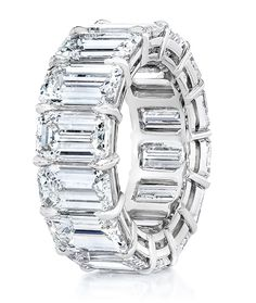 Cellini Jewelers carries CELLINI Emerald-Cut Diamond Eternity Band. Visit our stores or shop online at www.cellinijewelers.com today.