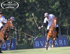 RH vs. La Indiana.  Copa de Oro Bulgari - Alto handicap.  Santa María Polo Club Sotogrande #PoloSotogrande #Polo #Sotogrande Foto: SMPC / Gonzalo Etcheverry