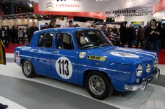 Rétromobile_Paris_02_2014_Renault 8_Gordini