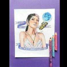 Melanie Martinez, Cry Baby, After School, Fan Art, Portrait, Drawings, Artwork, Things To Sell, Work Of Art