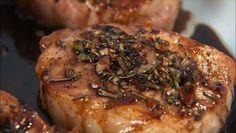 Giada De Laurentiis - Spiced Pork Chops with Sweet and Sour Glaze (Agrodolce)
