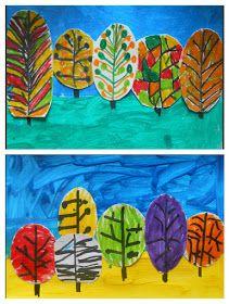 Kindergarten Art Class: ΕΠΙΤΕΛΟΥΣ ... ΦΘΙΝΟΠΩΡΟ!!!! Thanksgiving Art Projects, Fall Art Projects, School Art Projects, Angel Crafts, Tree Crafts, Autumn Crafts, Autumn Art, Kindergarten Art Lessons, First Grade Art