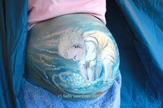 Herkkupurkki: bodyart Herkkupurkki: taideteos  body art, bregnant, baby, painting, child Baby Painting, Some Body, Body Art, Child, Tattoos, Boys, Tatuajes, Kid, Tattoo