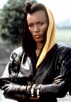 007 James Bond Girl 1985 A View to a Kill: Grace Jones as May Day