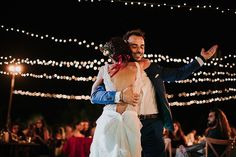 ohemian, earthy and colourful; just a few words to describe today's incredible Cypriot Real Wedding. Living in London, Cyprus-born Stella and Stelios knew that… Festival Wedding, First Dance, Real Weddings, Brides, Celebration, Bohemian, Vibrant, The Incredibles, Concert