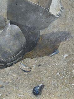 Andrew Wyeth, (detail)