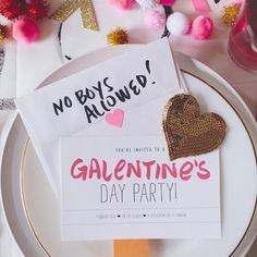 "The Ultimate Guide to Galentine's Day!- ""Ahh the most romantic time of the year.well for single ladies anyway"" While couples are out their enjoying their Valentine on the you have your own special day.Galentines Day which is TODAY…More Anti Valentines Day, Funny Valentine, Be My Valentine, Valentine Party, Valentine Ideas, Friends Valentines Day, Valentines Balloons, Valentine Nails, Valentine Decorations"