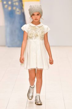 See all of the pieces in the Bonpoint Collection Young Fashion, Kids Fashion, Fashion Show, Ceremony Dresses, Wedding Dresses, To My Daughter, My Girl, Beautiful Dresses, Flower Girl Dresses